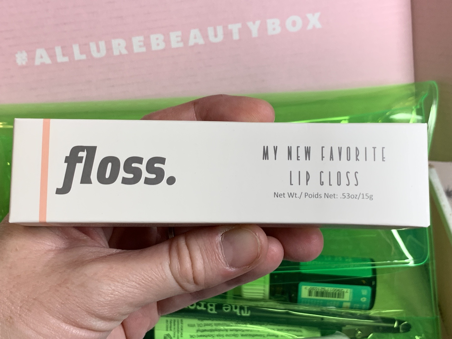 Floss My New Favorite Lip Gloss