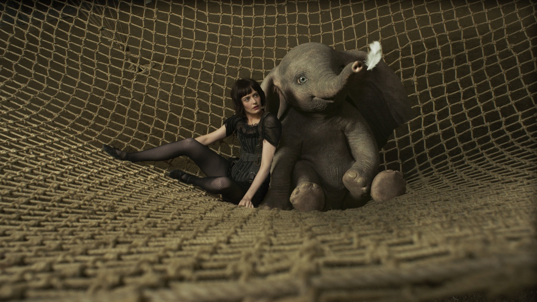 dumbo and woman
