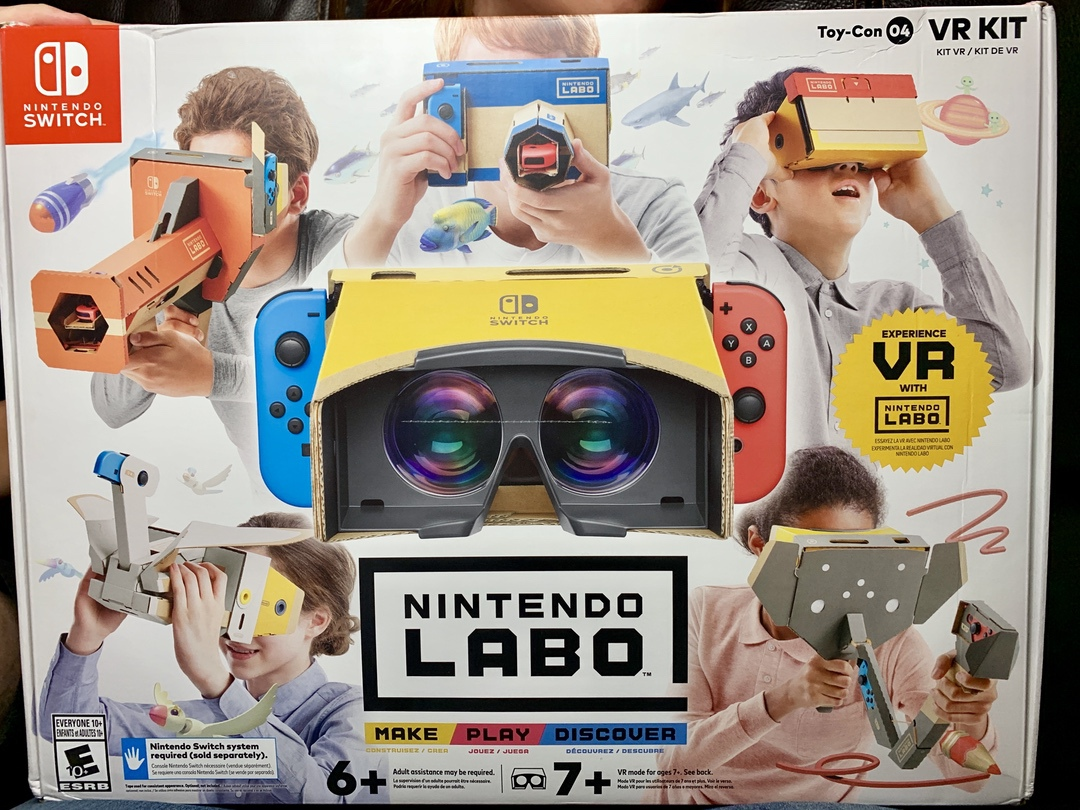 Nintendo Labo VR Kit for Nintendo Switch
