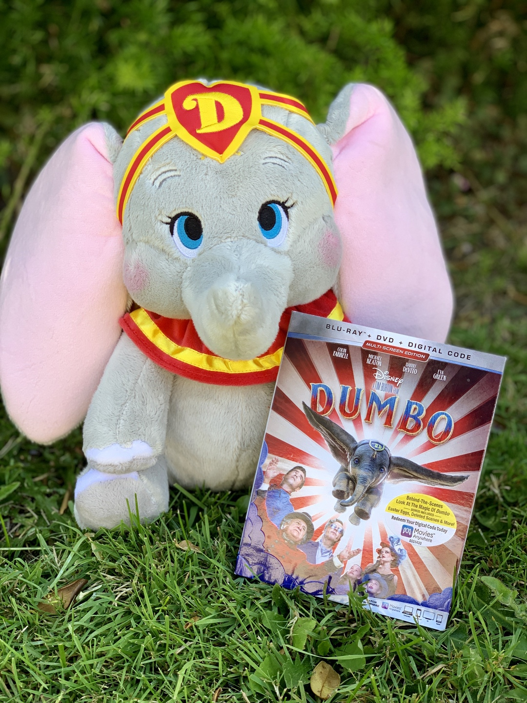DUMBO Plush and Movie
