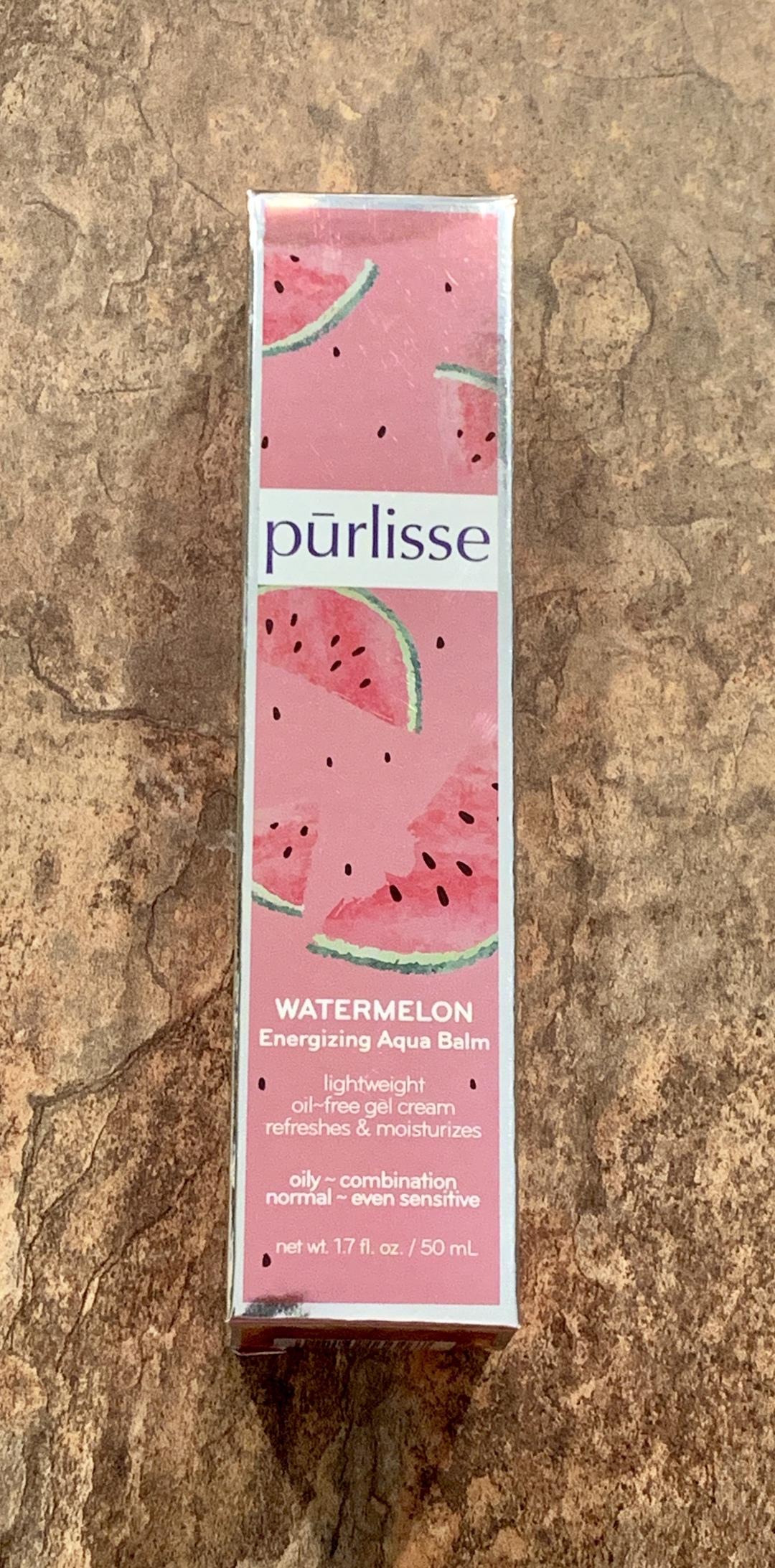 Purlisse Watermelon Energizing Aqua Balm