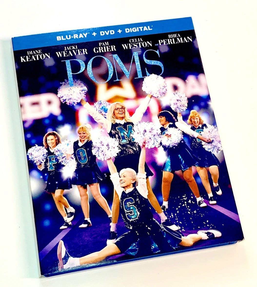 POMS Blu-ray and DVD