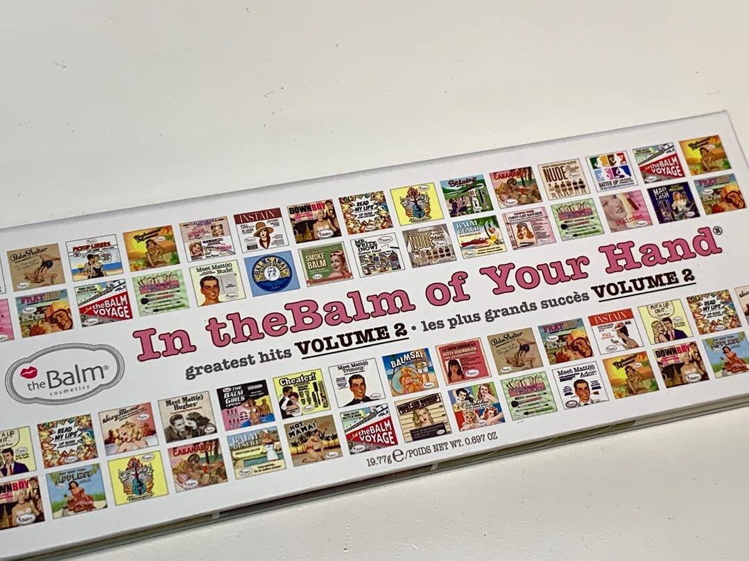 THEBALM Cosmetics In the Balm of Your Hand Greatest Hits Volume 2 Palette