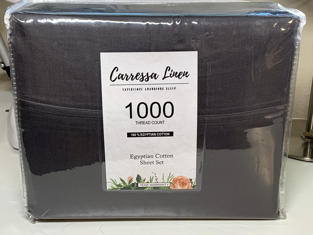 Carressa Linen Sheets