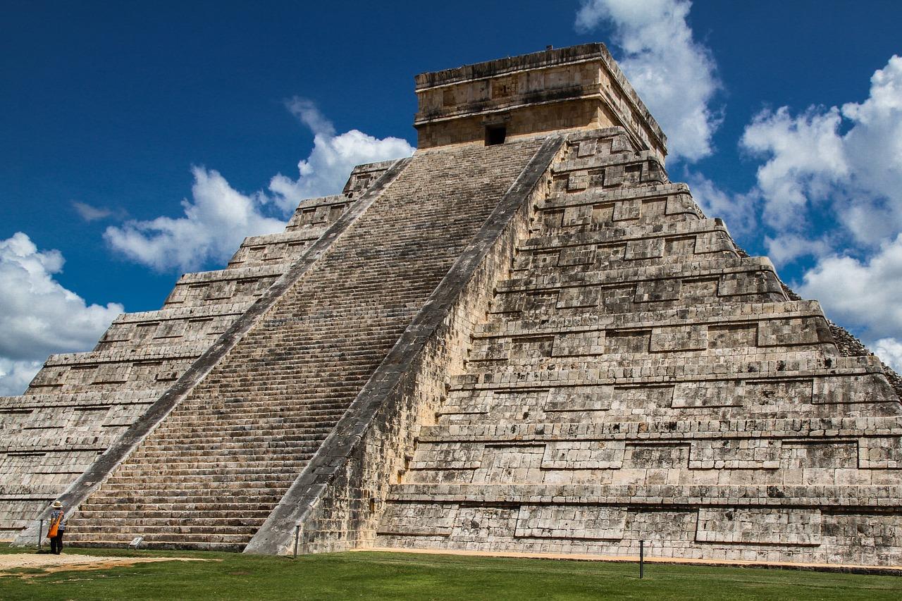 The Mayan Ruins at Chichen Itza