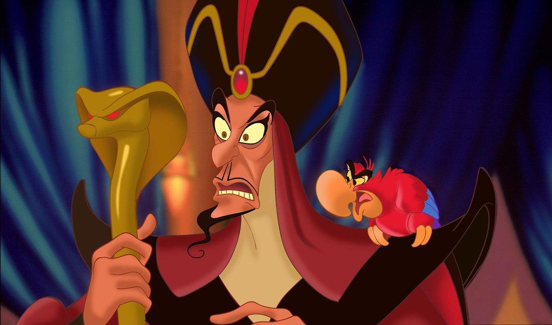 Jaffar and Yago in Aladdin