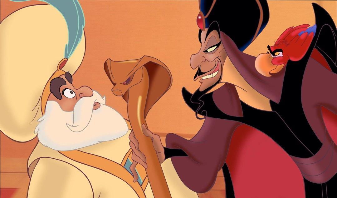 Sultan Jafar Yago in Aladdin