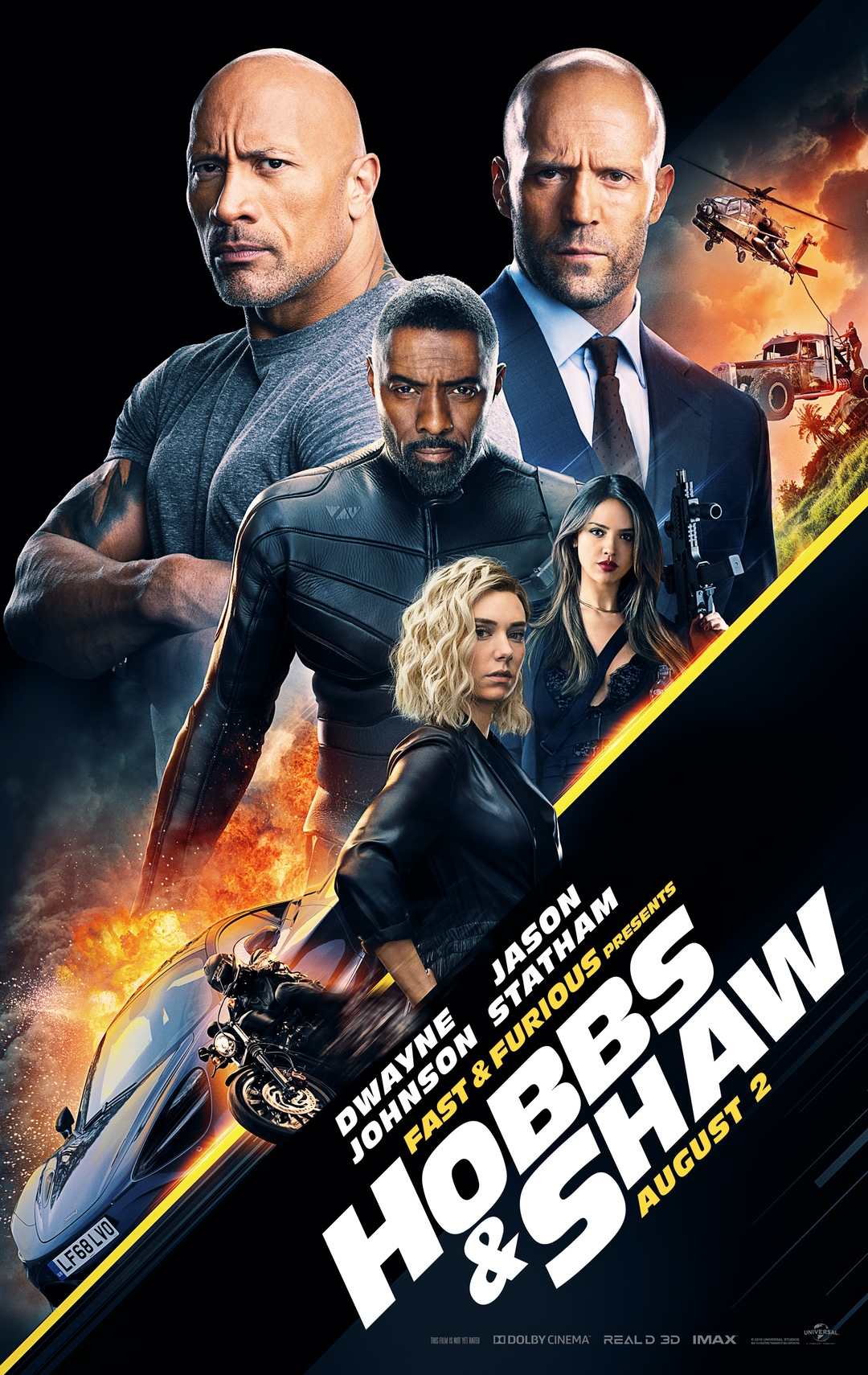 Fast & Furious Presents: Hobbs & Shaw Movie