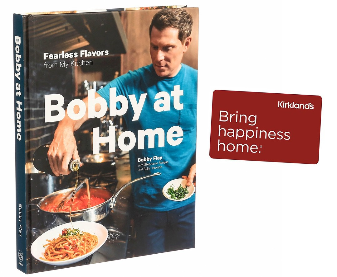 Bobby at Home Giveaway