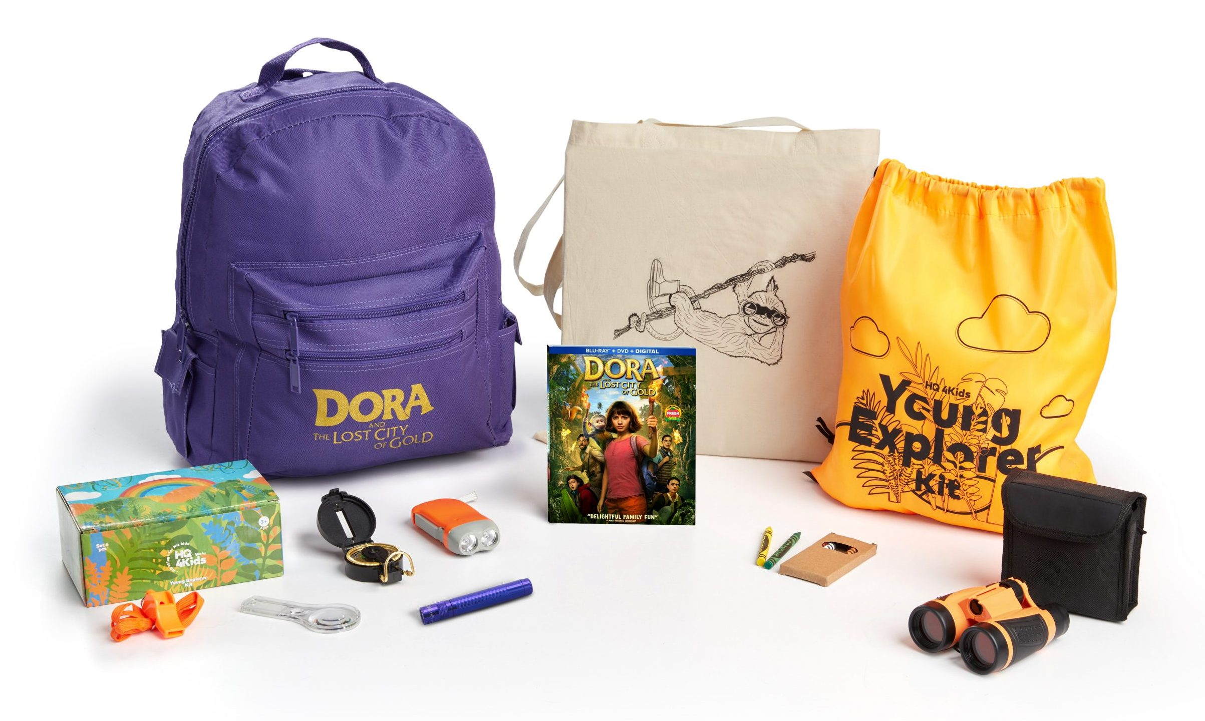 Dora And The Lost City of Gold Movie Prize Pack
