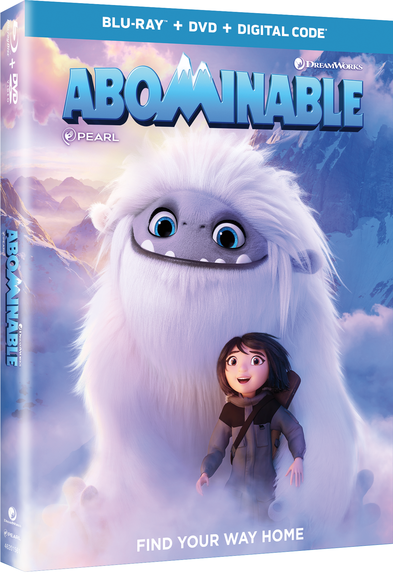 Abominable DVD Blu-ray Movie