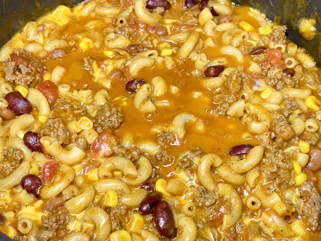Chili Mac Skillet Recipe
