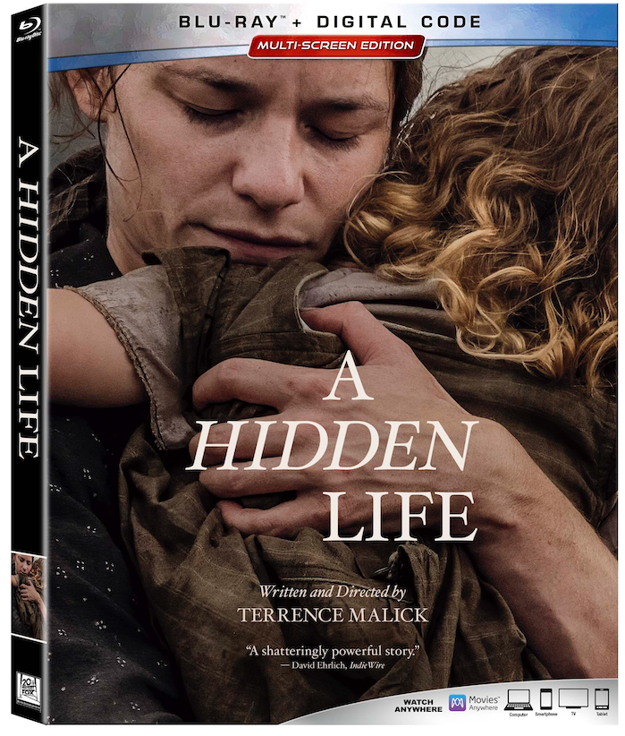 A Hidden Life on Blu-ray and DVD
