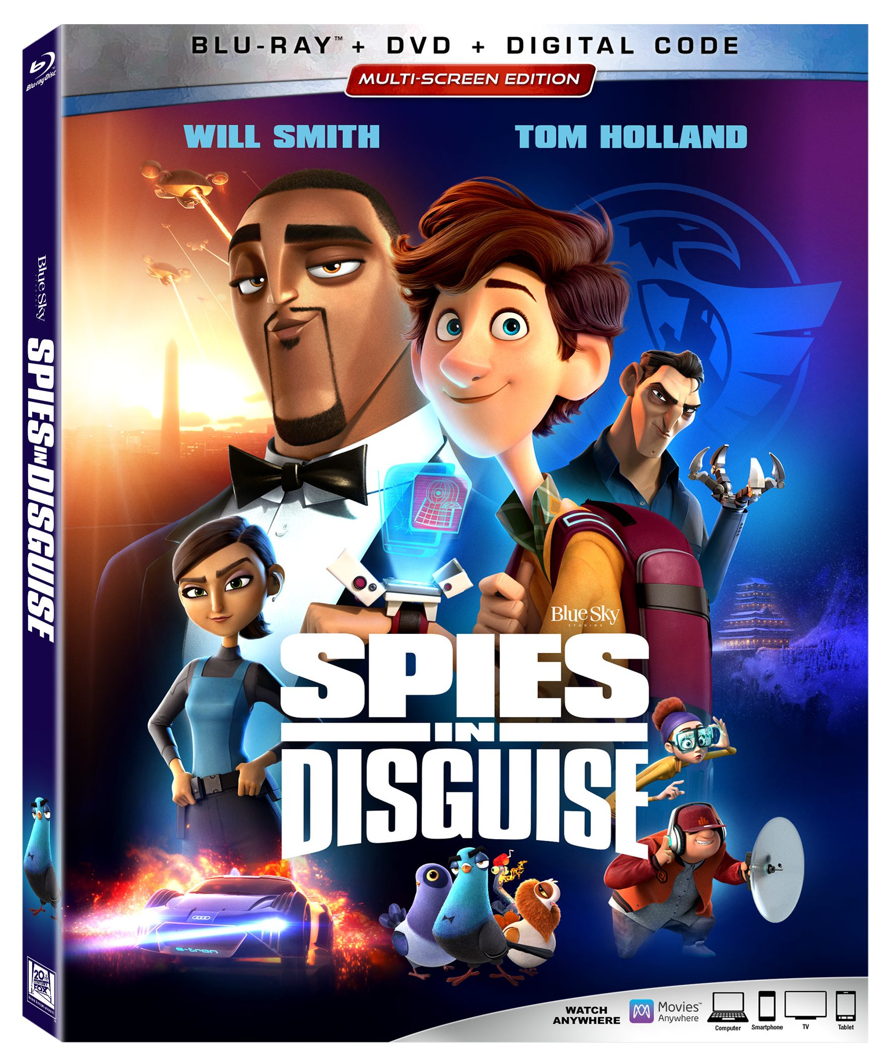 Spies in Disguise on Blu-ray and DVD