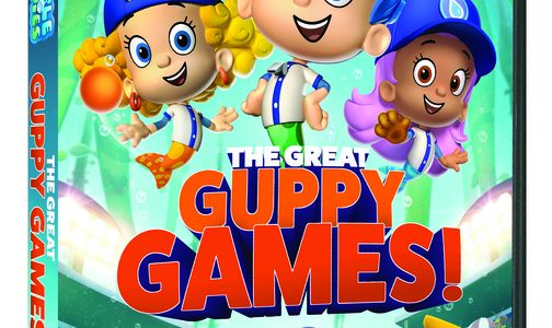 Bubble Guppies: The Great Guppy Games! on DVD + GIVEAWAY
