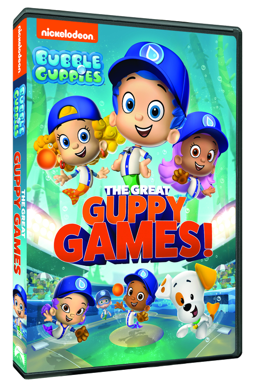 Bubble Guppies The Great Guppy Games on DVD