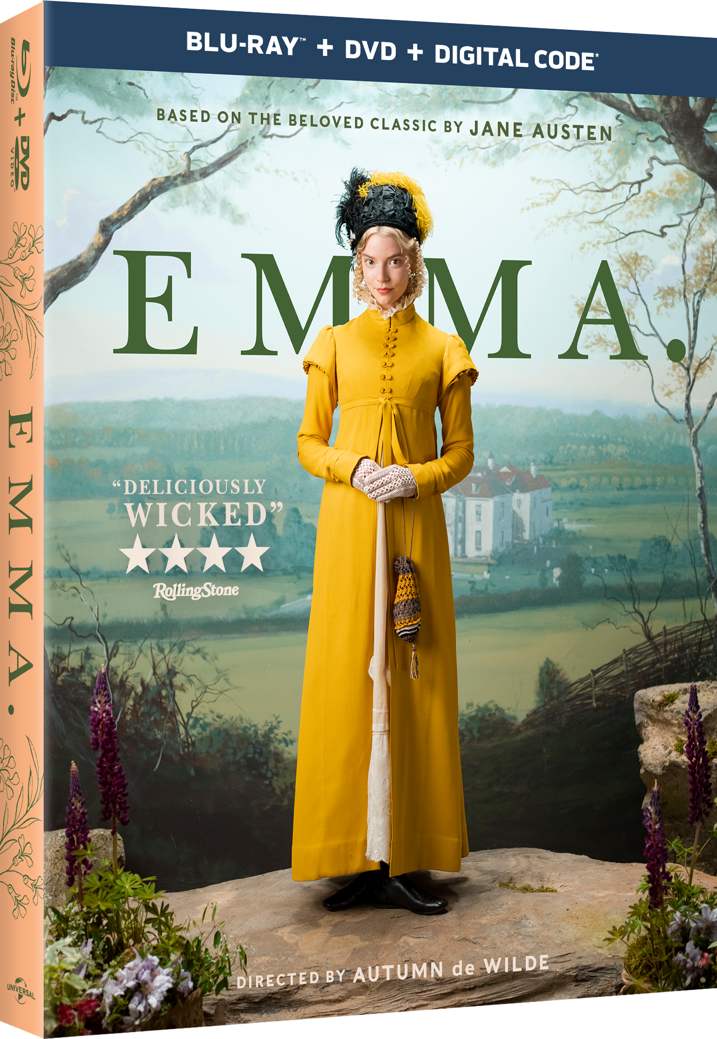 Emma Movie Blu-ray DVD Digital