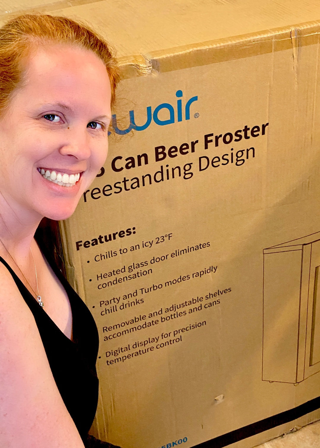 NewAir Beer Fridge Froster