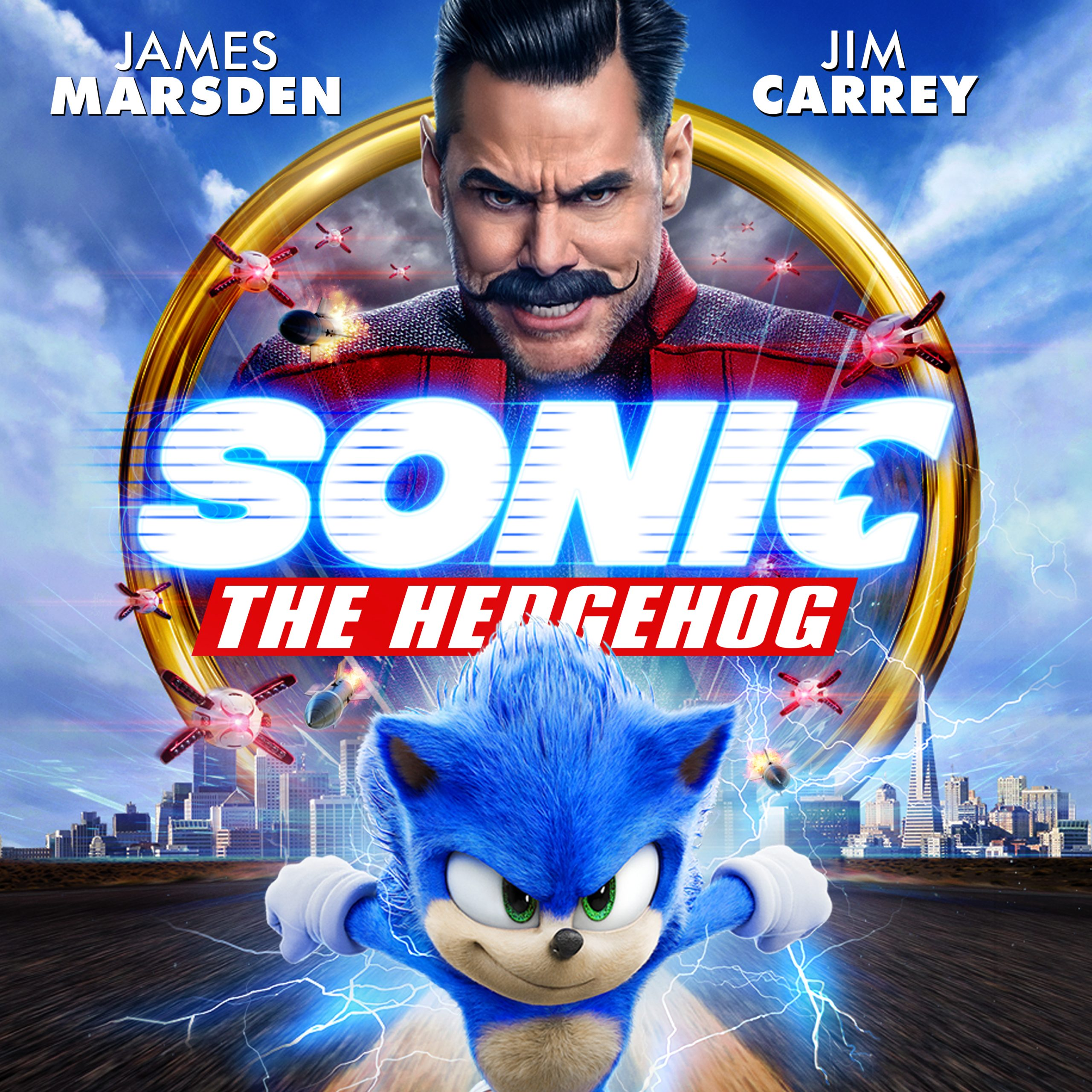 Sonic the Hedgehog Blu-ray DVD
