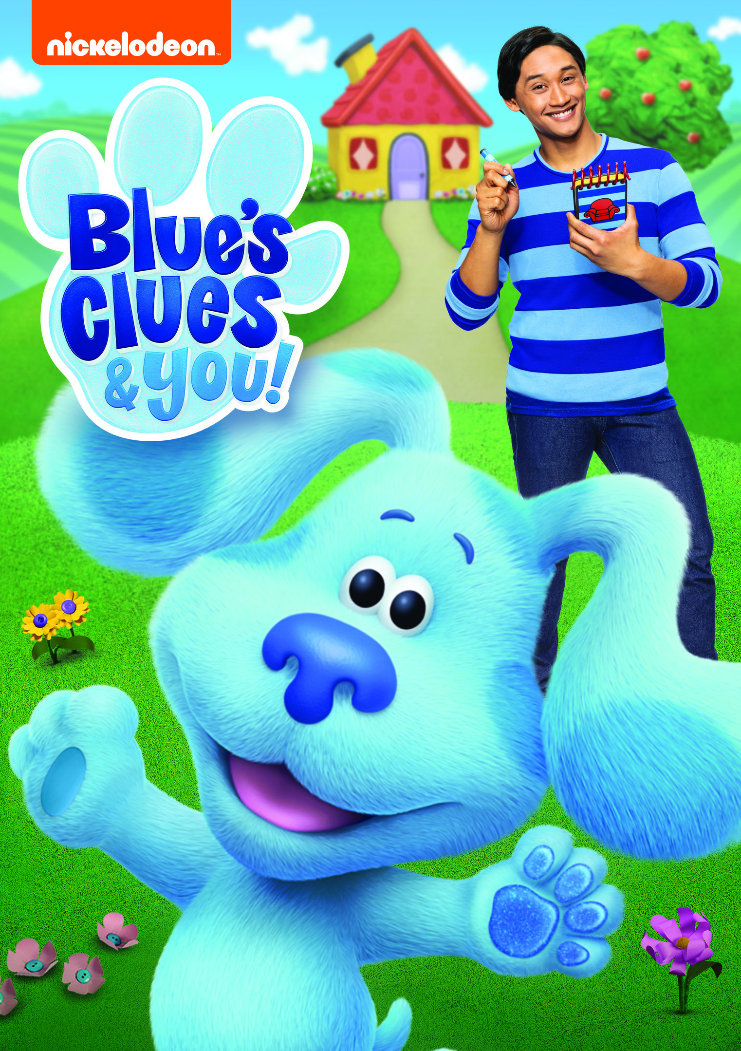 Blue's Clues & You on DVD