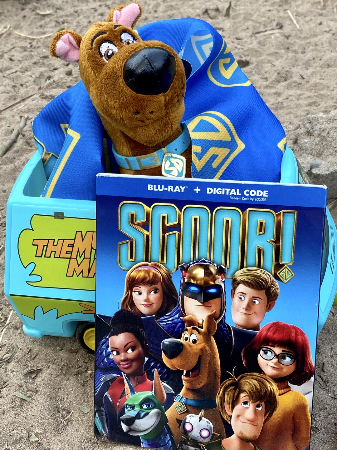 SCOOB Blu-ray DVD Movie