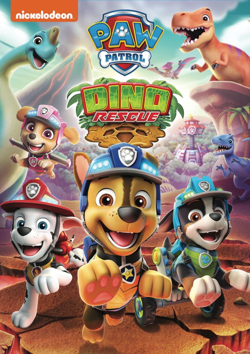 Paw Patrol: Dino Rescue DVD