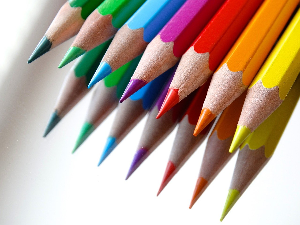 Colored Pencils writing essays