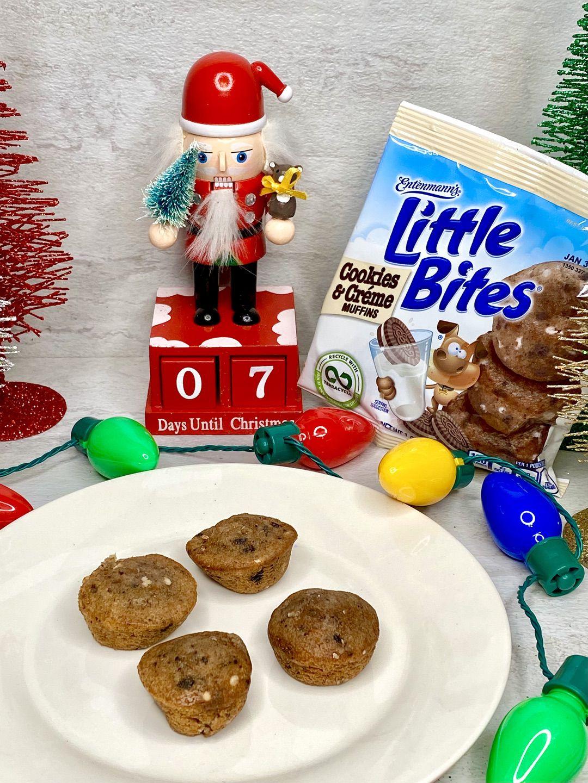 Little Bites® Cookies & Crème muffins