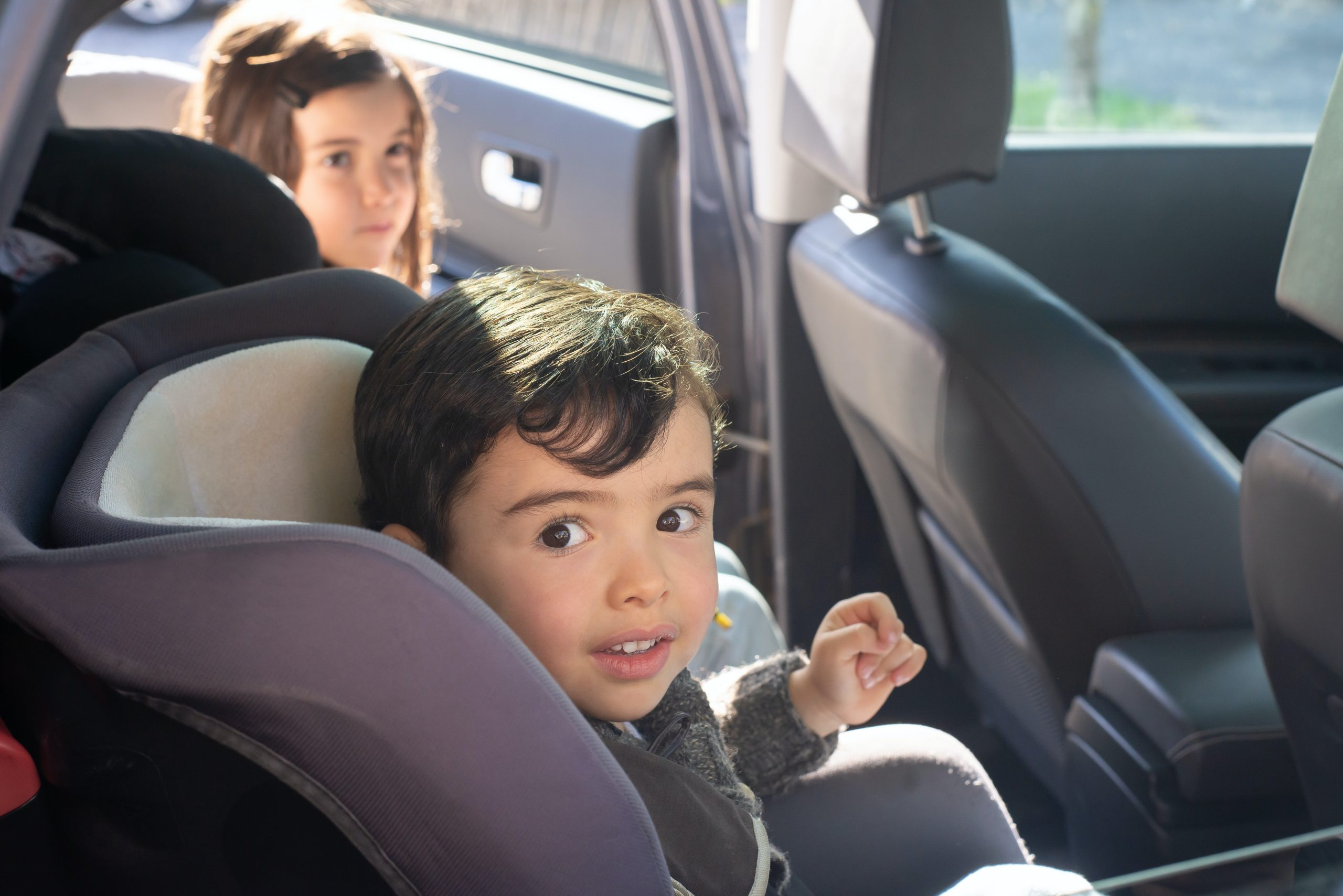 Child Safe in Child Seat