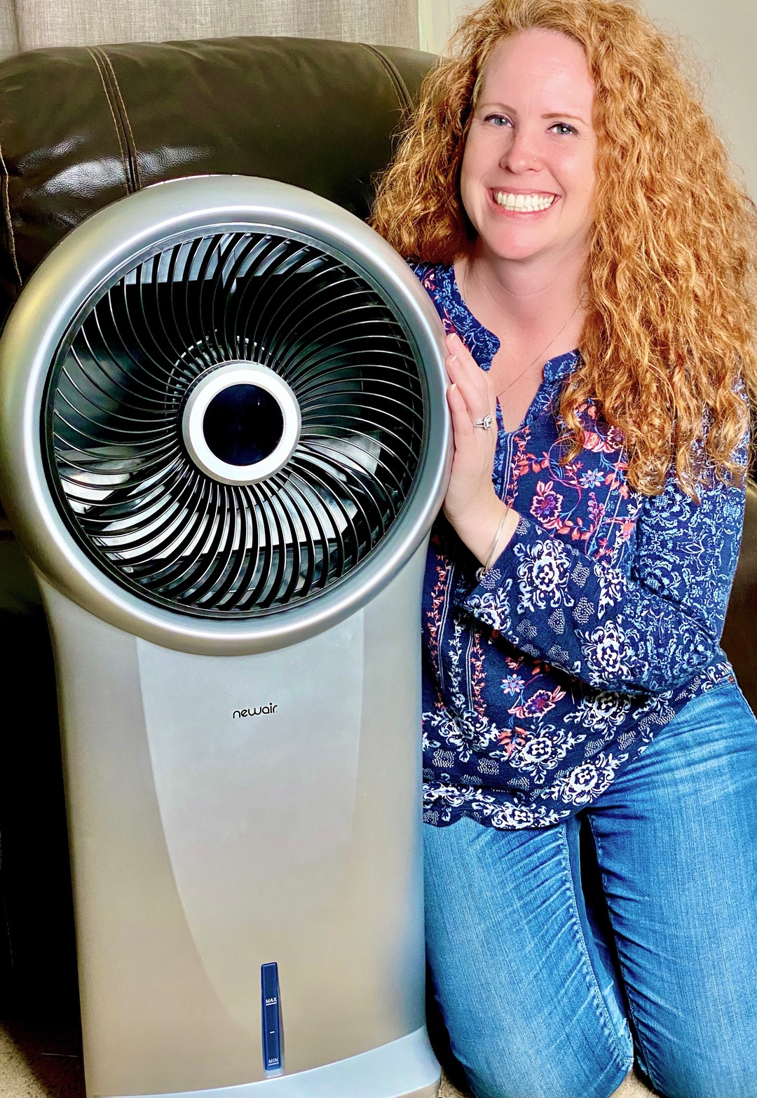 NewAir Evaporative Cooler and Portable Cooling Fan