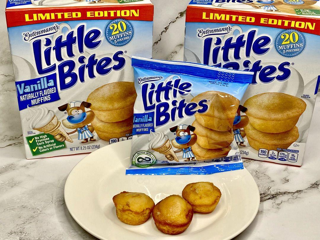 Entenmann's Little Bites Muffins Vanilla