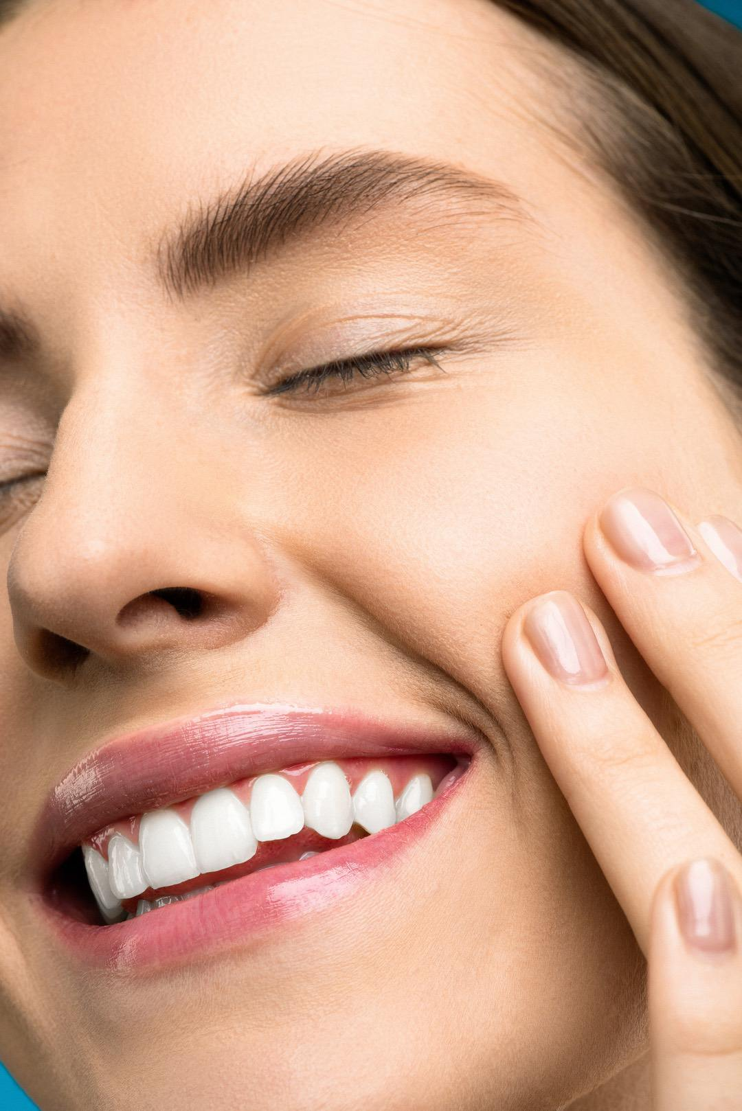 Healthy Smile with Teeth