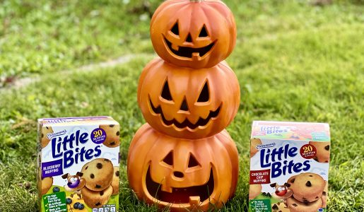 Celebrating Halloween with Little Bites + GIVEAWAY