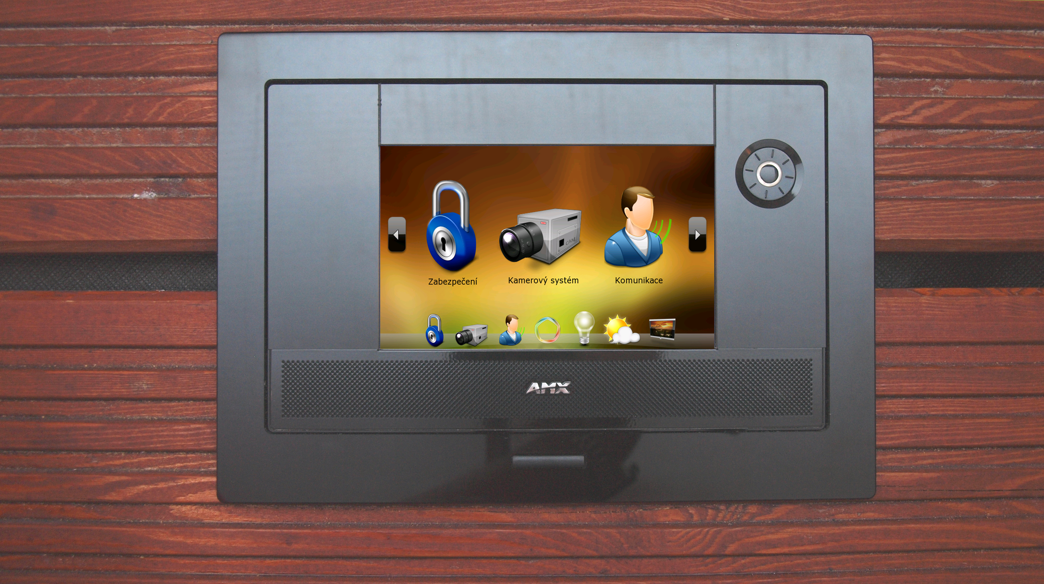 A photo of a home automation controller
